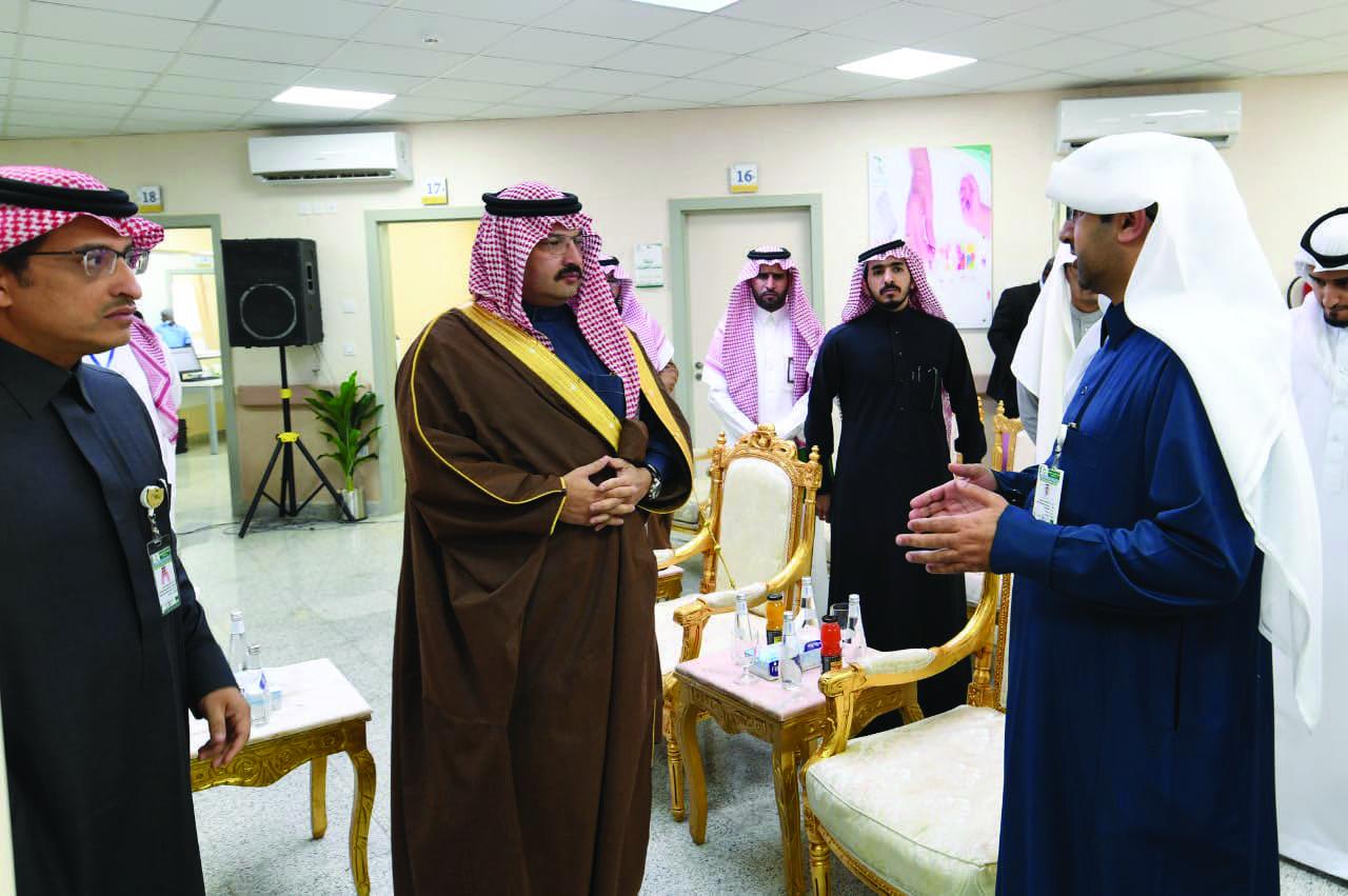أمير عسير يدشن المراكز الصحية المناوبة في المنطقة